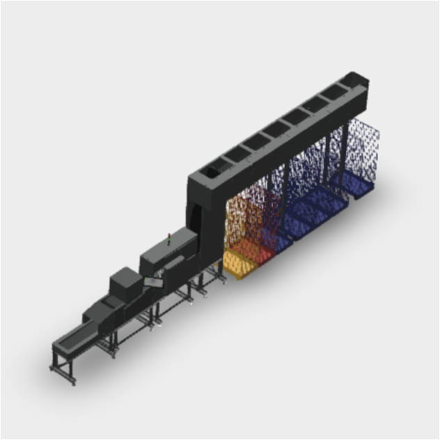 Inwatec soiled side sorting system