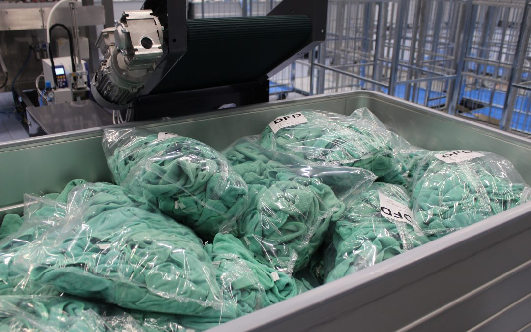 Packing system ensures hygiene and optimizes logistics