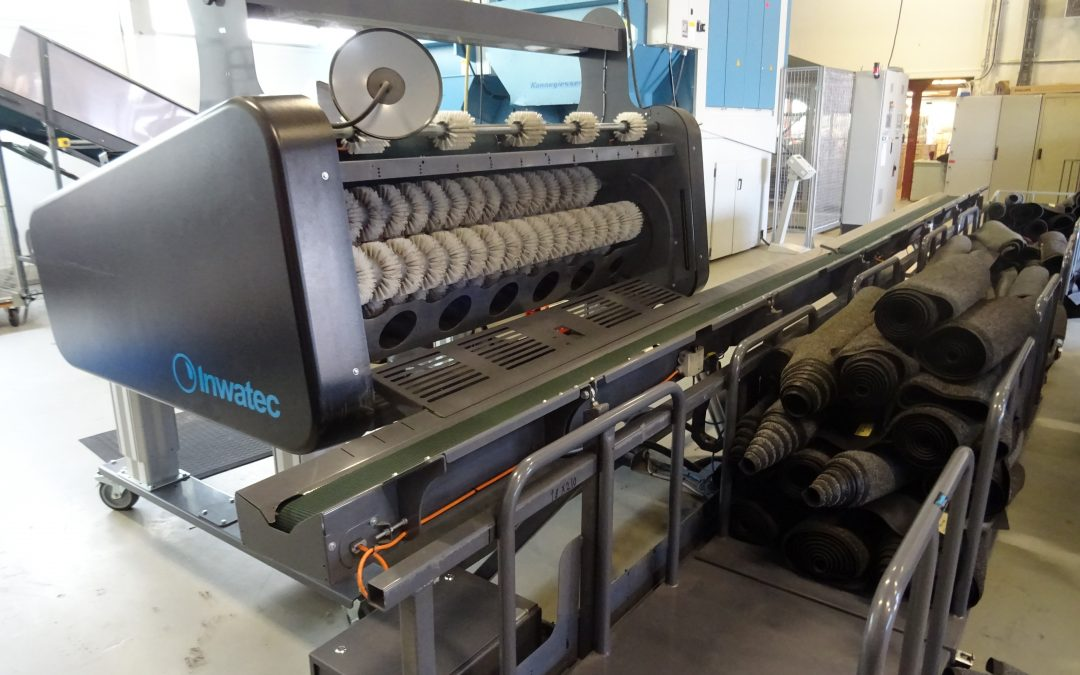 Mat laundry Leko Matter continues to focus on automation