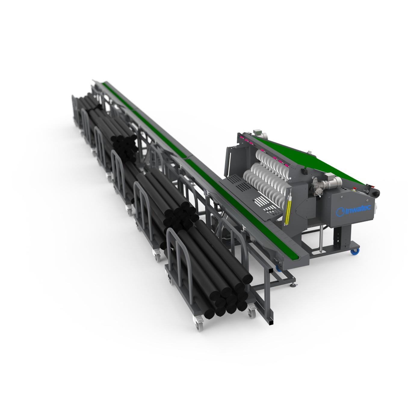 Inwatec mat sorting conveyor