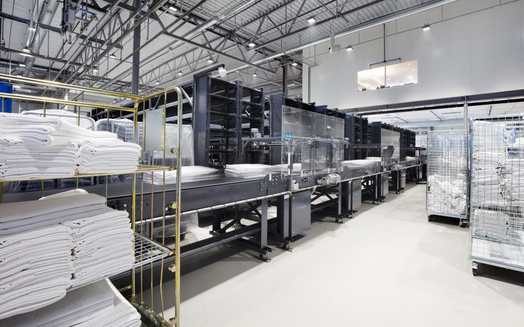Nor Tekstil's specialized laundry for hotels is a success