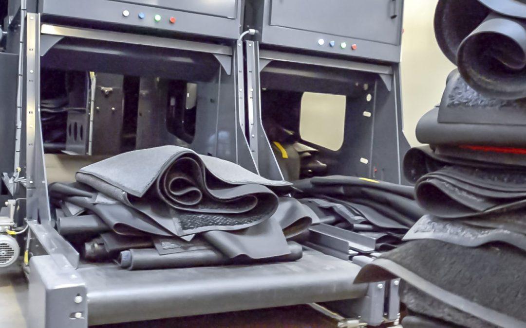 No more handling of filthy mats at innovative German laundry